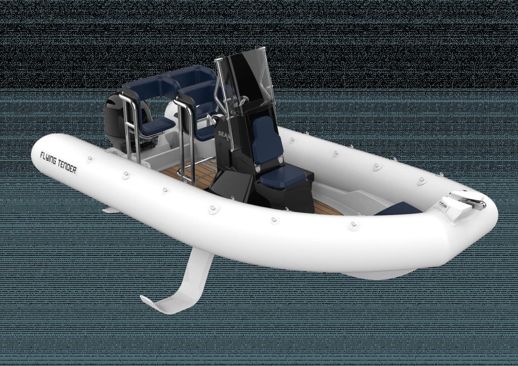 Illustration d'un Flying Tender SEAir blanc