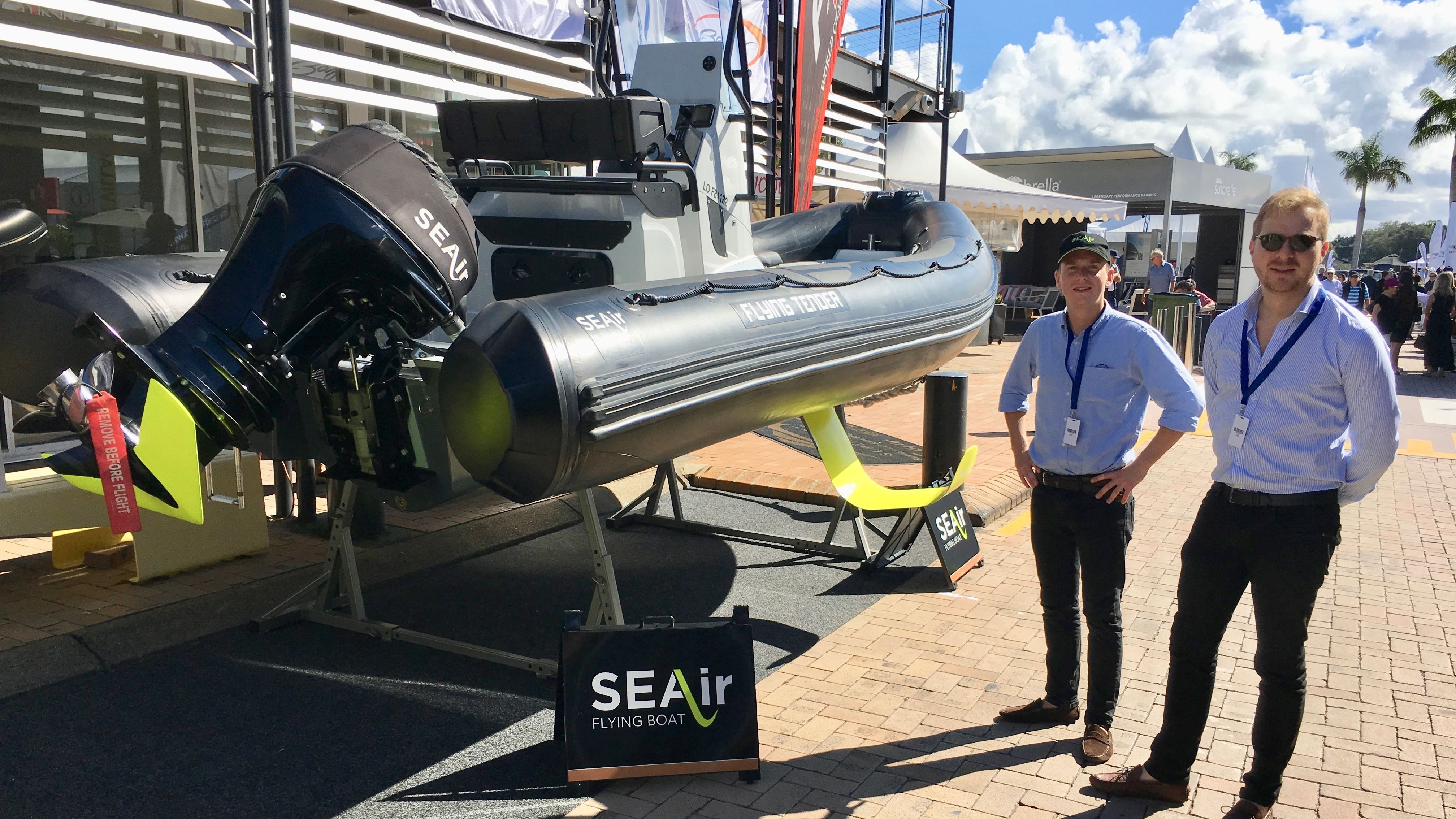 Introduction of the SEAir Flying Tender in Australia