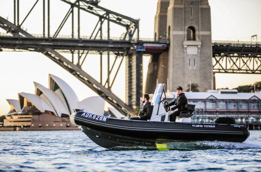 SEAir's Flying Tender in Sydney's bay